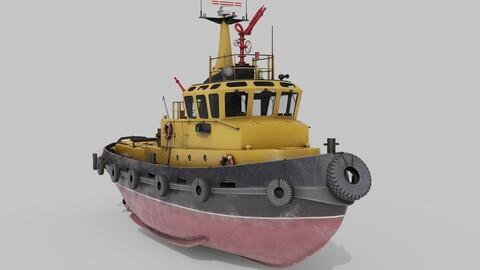 Tugboat Havendienst 4