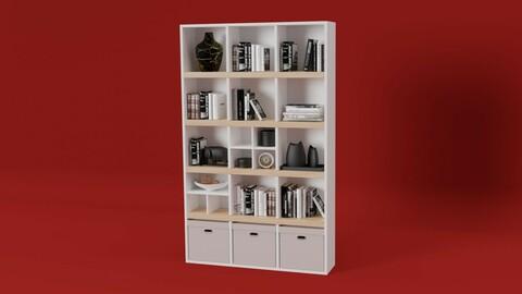 New Friends 1200 5 tier bookshelf