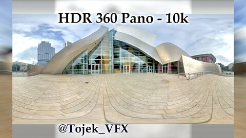 HDR 360 Panorama - DTLA - 36 Walt Disney Concert Hall