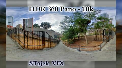 HDR 360 Panorama - DTLA - 50 Angels Flight Railway