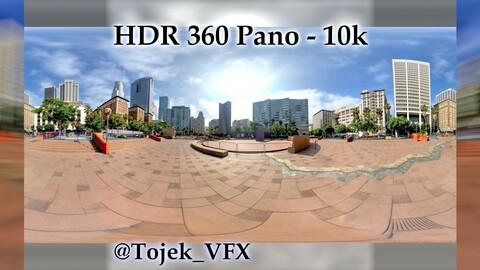 HDR 360 Panorama - DTLA - 71 Pershing Square SW corner