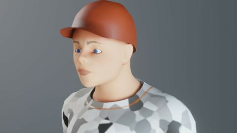 johnny , character for unreal engine