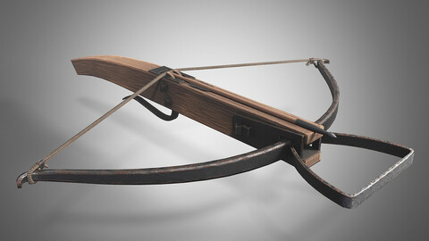 🟥Lowpoly Medieval Crossbow