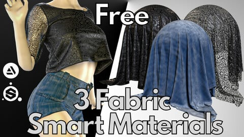 3 Fabric smart material : Summer outfit