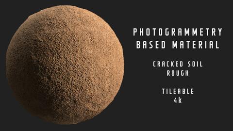 018 Cracked soil  - Photogrammetry based material