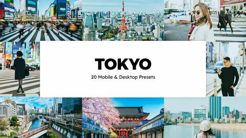 20 Tokyo LUTs and Lightroom Presets