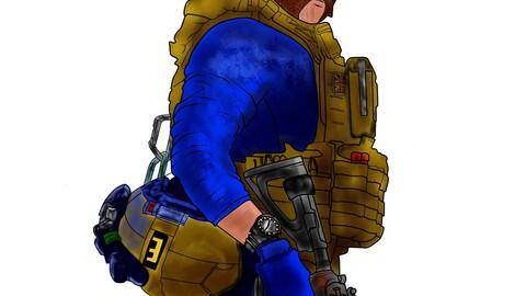 CAP Price Call Of Duty ModernWarfare Fan Art