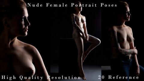 Nude Female Portrait Poses
