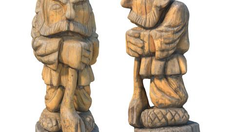 350 Wooden Man