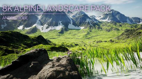 8K Alpine Landscape Pack