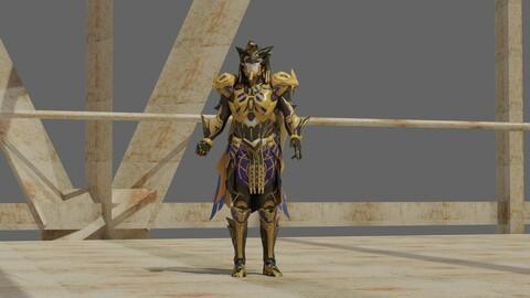 Pharaoh X-suit PUBG Mobile