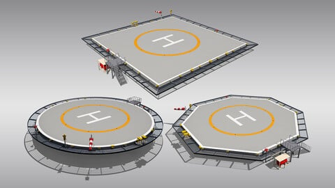 Heliports Collection