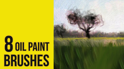 Oil Paint Brushes for Photoshop
