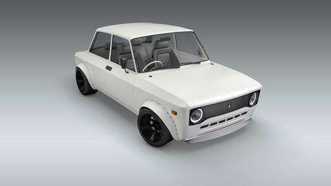Custom 1973 Fiat 128 Rally