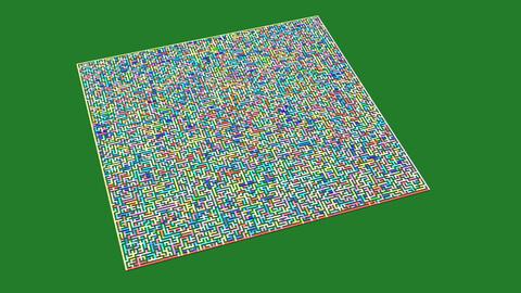 Colorful smart maze 201x201 (laberinto inteligente colorido 201x201)
