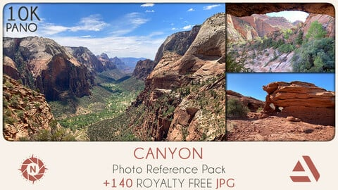 Photo Reference Pack: Canyon