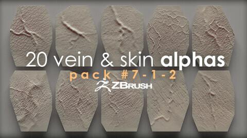 20 Vein & Skin Alphas