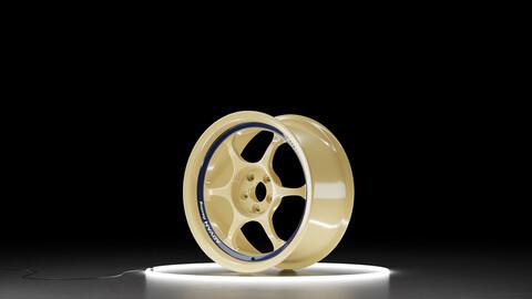 Advan RG I Car wheel 3D model