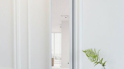 Space Utilization Door Hanger Full Body Mirror