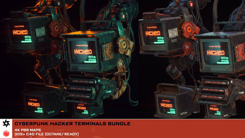Cyberpunk Terminals Pack