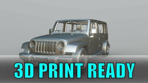 Jeep Wrangler 3D PRINT READY