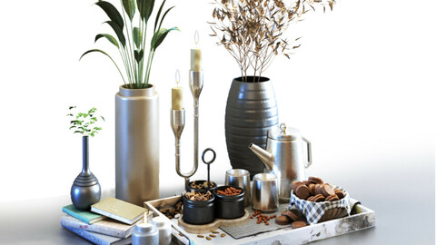 Decoration of breakfast set 027