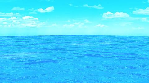 3D Realistic Cool Ocean