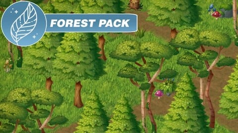 Forest Pack - 2D Handpainted assets
