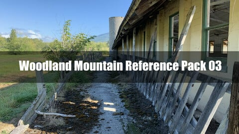 Woodland Mountain Reference Pack 03
