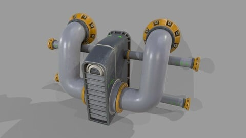 Prosp 1 from Wall Tube Mechanism Props