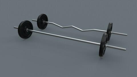 PBR Adjustable Barbell Set A2