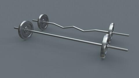 PBR Adjustable Barbell Set A3