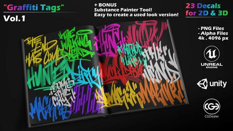 Graffiti Tags - Vol-1