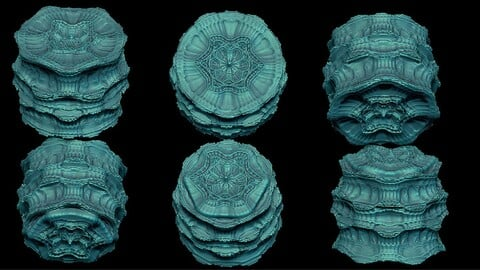 15 fractal cylinder