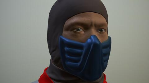 Ninja 01 Basemesh