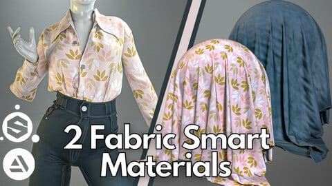 2 Fabric smart material : Oversized outfit