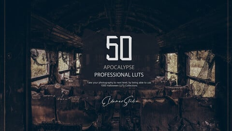 50 Apocalypse LUTs and Presets Pack