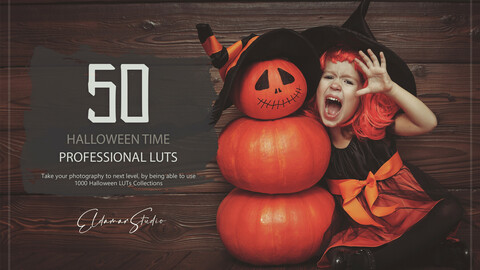 50 Halloween Time LUTs and Presets Pack
