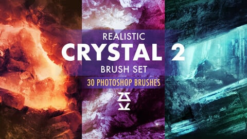 Realistic Crystal 2 Brush Set