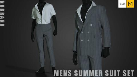 Mens - Summer Suit Set