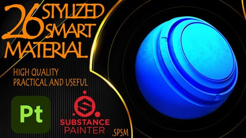 26 - Practical and Useful Stylized Smart Material VOL01