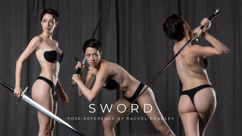 Sword Pose Pack - Pose Reference for Artists