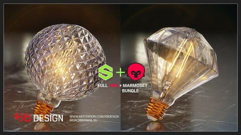 Substance Designer Lamps (SBS+Marmoset)