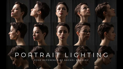 Portrait Lighting Compendium - Pose Reference for Artists
