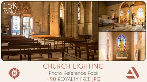 Photo Reference Pack: Church Lighting