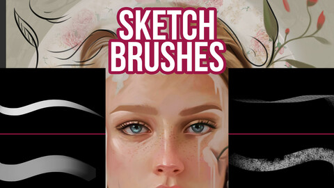 Sketch Brushes for Photoshop