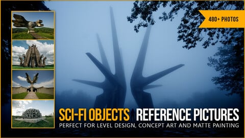 480+ Sci-fi Objects Refence Pictures