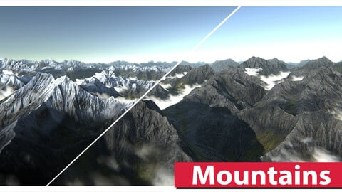 Mountains Asset Pack