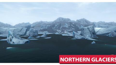 Northern Glaciers Asset Pack