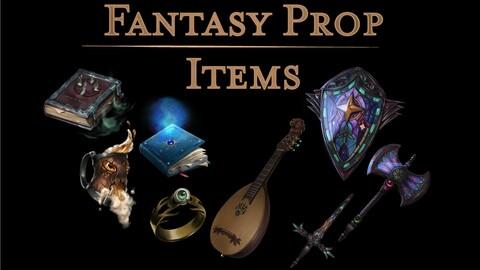 Stock Art l Fantasy Prop Items